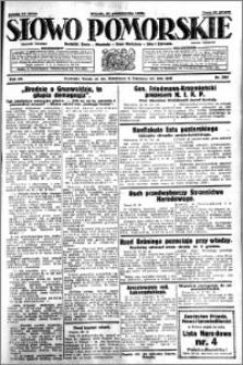 Słowo Pomorskie 1930.10.21 R.10 nr 244