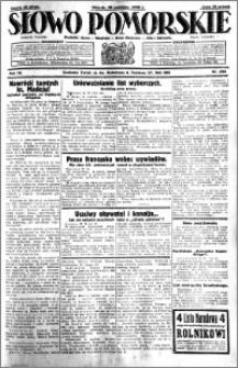 Słowo Pomorskie 1930.10.28 R.10 nr 250