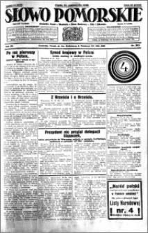 Słowo Pomorskie 1930.10.31 R.10 nr 253