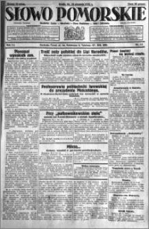 Słowo Pomorskie 1931.01.14 R.11 nr 10