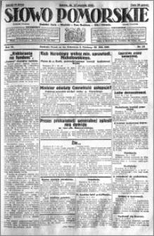 Słowo Pomorskie 1931.01.17 R.11 nr 13