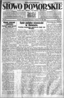 Słowo Pomorskie 1931.01.23 R.11 nr 18