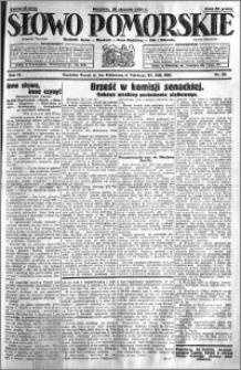 Słowo Pomorskie 1931.01.25 R.11 nr 20
