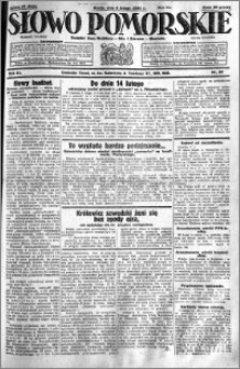 Słowo Pomorskie 1931.02.04 R.11 nr 27