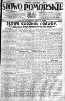Słowo Pomorskie 1931.02.07 R.11 nr 30