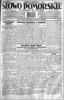 Słowo Pomorskie 1931.02.14 R.11 nr 36