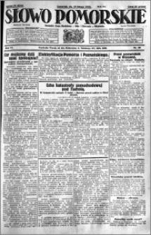 Słowo Pomorskie 1931.02.19 R.11 nr 40
