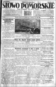 Słowo Pomorskie 1931.02.27 R.11 nr 47