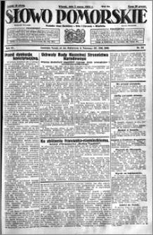 Słowo Pomorskie 1931.03.03 R.11 nr 50