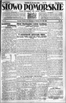 Słowo Pomorskie 1931.03.12 R.11 nr 58