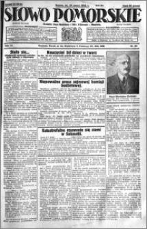 Słowo Pomorskie 1931.03.14 R.11 nr 60