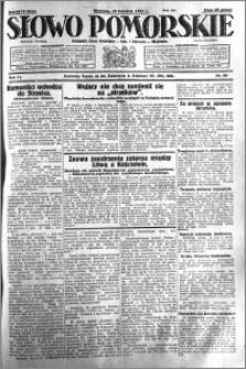 Słowo Pomorskie 1931.04.19 R.11 nr 90