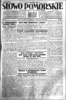 Słowo Pomorskie 1931.04.28 R.11 nr 97