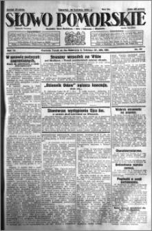 Słowo Pomorskie 1931.04.30 R.11 nr 99