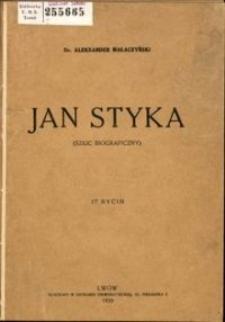 Jan Styka : (szkic biograficzny)