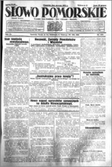 Słowo Pomorskie 1931.05.28 R.11 nr 121