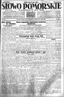 Słowo Pomorskie 1931.05.30 R.11 nr 123