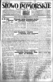 Słowo Pomorskie 1931.06.02 R.11 nr 125
