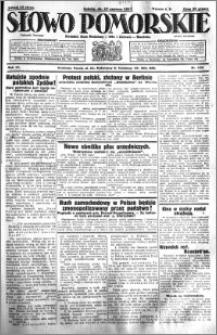 Słowo Pomorskie 1931.06.13 R.11 nr 134