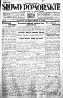 Słowo Pomorskie 1931.06.21 R.11 nr 141