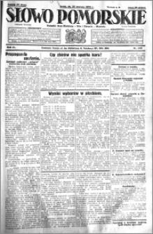 Słowo Pomorskie 1931.06.24 R.11 nr 143