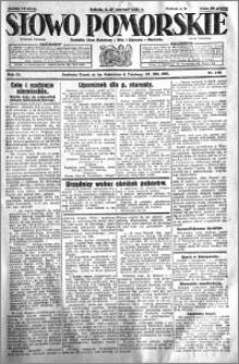 Słowo Pomorskie 1931.06.27 R.11 nr 146