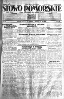 Słowo Pomorskie 1931.07.10 R.11 nr 156