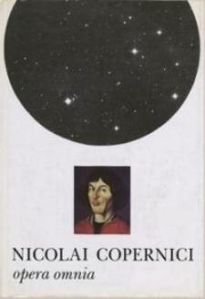 Nicolai Copernici scripta minora : imagines lucis ope depictae