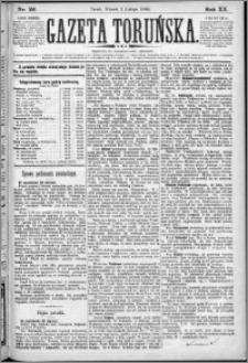 Gazeta Toruńska 1886, R. 20 nr 26