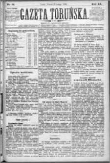 Gazeta Toruńska 1886, R. 20 nr 31