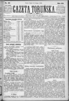 Gazeta Toruńska 1886, R. 20 nr 40