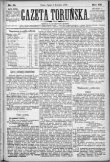 Gazeta Toruńska 1886, R. 20 nr 81
