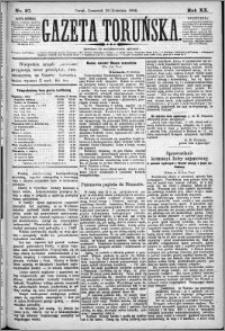 Gazeta Toruńska 1886, R. 20 nr 97
