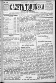 Gazeta Toruńska 1886, R. 20 nr 119
