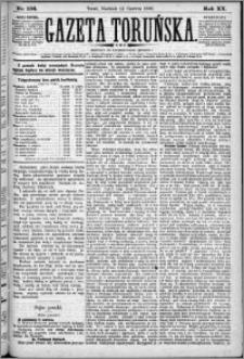 Gazeta Toruńska 1886, R. 20 nr 134