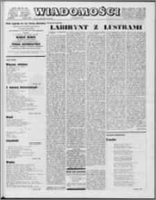 Wiadomości, R. 25 nr 28 (1267), 1970
