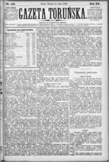 Gazeta Toruńska 1886, R. 20 nr 156