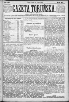 Gazeta Toruńska 1886, R. 20 nr 157