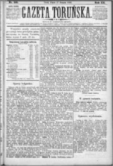 Gazeta Toruńska 1886, R. 20 nr 195
