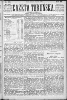Gazeta Toruńska 1886, R. 20 nr 205