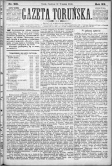 Gazeta Toruńska 1886, R. 20 nr 221
