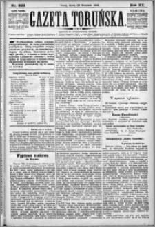 Gazeta Toruńska 1886, R. 20 nr 223