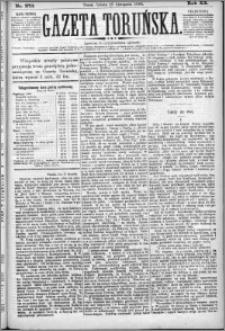 Gazeta Toruńska 1886, R. 20 nr 273