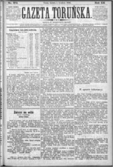 Gazeta Toruńska 1886, R. 20 nr 279