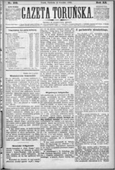 Gazeta Toruńska 1886, R. 20 nr 285