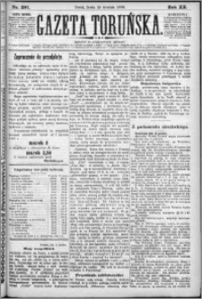 Gazeta Toruńska 1886, R. 20 nr 287