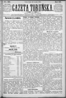 Gazeta Toruńska 1886, R. 20 nr 298