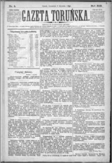 Gazeta Toruńska 1885, R. 19 nr 5