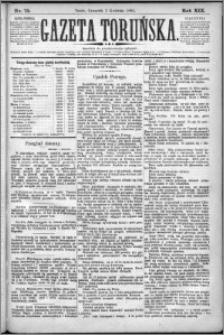 Gazeta Toruńska 1885, R. 19 nr 75