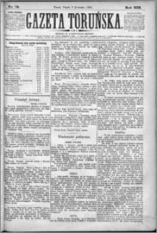 Gazeta Toruńska 1885, R. 19 nr 76